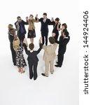 group of multiethnic...   Shutterstock . vector #144924406