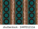 seamless decorative pattern of... | Shutterstock .eps vector #1449312116