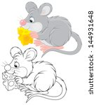 animal,black and white,black-and-white,cartoon,cartoony,cheese,clip-art,coloring book,coloring page,drawing,gray mouse,grey mouse,illustration,isolated,isolated on white