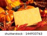 Arangement Of Pumpkins And...