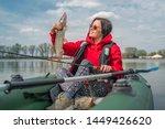 Kayak Fishing. Fisher Girl...