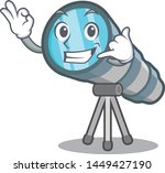 call me toy telescope in a... | Shutterstock .eps vector #1449427190