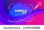 modern abstract banners... | Shutterstock .eps vector #1449448886