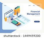 financial management concept...   Shutterstock .eps vector #1449459200