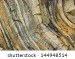 Wall Of Sedimentary Rock ...