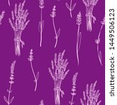 cartoon seamless pattern with... | Shutterstock .eps vector #1449506123