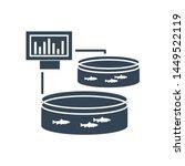 black icon pool for breeding... | Shutterstock .eps vector #1449522119