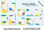social media banner template... | Shutterstock .eps vector #1449583139