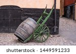 Trolley For Transporting Woode...