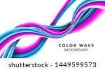 liquid gradient color... | Shutterstock .eps vector #1449599573