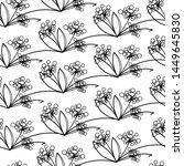 seamless scandinavian pattern ...   Shutterstock .eps vector #1449645830