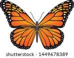 Danaus Plexippus Butterfly...