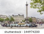 london   may 30  tourists visit ... | Shutterstock . vector #144974200