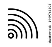 signal icon   data celuler  ...   Shutterstock .eps vector #1449768803