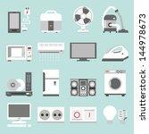 appliances icons design  vector | Shutterstock .eps vector #144978673