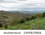 sayan mountains in the republic ... | Shutterstock . vector #1449819806