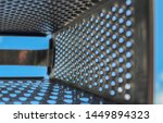 Metal Grater On A Background O...