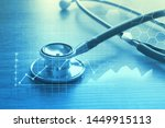 medical examination and... | Shutterstock . vector #1449915113