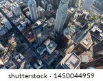 late afternoon aerial of... | Shutterstock . vector #1450044959