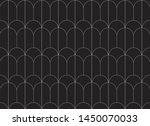 elegant art nouveau seamless...   Shutterstock .eps vector #1450070033