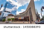 country music hall of fame in...   Shutterstock . vector #1450088393
