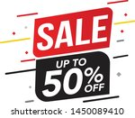 sale and special offer tag ... | Shutterstock .eps vector #1450089410