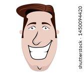 isolated businessman cartoon... | Shutterstock .eps vector #1450094420