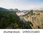 Calcite Springs of Yellowstone National Park