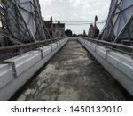 old long overpass for cross the ... | Shutterstock . vector #1450132010