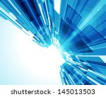 Abstract Virtual Space With...