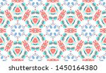 colorful seamless pattern for... | Shutterstock . vector #1450164380