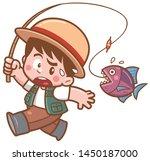 vector illustration of cartoon... | Shutterstock .eps vector #1450187000