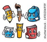 school characters vector...   Shutterstock .eps vector #1450206959