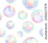 Bubble Hand Drawn Watercolor...