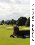 Small photo of Doncaster,South Yorkshire/UK-June 12 2019:Doncaster Racecourse home of the St Leger on a summers day.