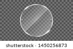 round glass frame vector.... | Shutterstock .eps vector #1450256873