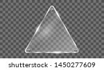 triangle glass frame vector.... | Shutterstock .eps vector #1450277609