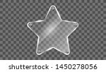 star glass frame vector.... | Shutterstock .eps vector #1450278056