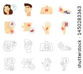 vector illustration of hospital ...   Shutterstock .eps vector #1450283363