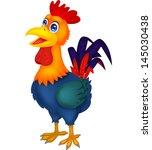 rooster cartoon | Shutterstock . vector #145030438
