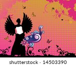 angel vector composition | Shutterstock .eps vector #14503390