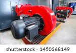 Two Large Blowers Of An...