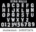 Star Hills Hollywood Alphabet   ...