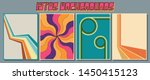 colorful vintage backgrounds... | Shutterstock .eps vector #1450415123