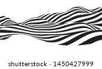 optical illusion wave. abstract ... | Shutterstock .eps vector #1450427999