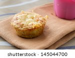 Vegetable Muffin With Hum And...
