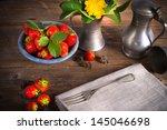 strawberries | Shutterstock . vector #145046698