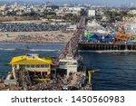 santa monica  california  usa   ... | Shutterstock . vector #1450560983