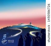 Muslim Pilgrimage Praying On...
