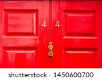house number 44 with the forty... | Shutterstock . vector #1450600700